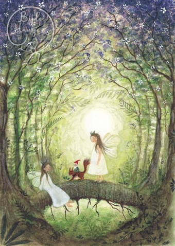 Fairies whit squirrel